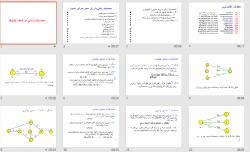 دانلود فایل پاورپوینت محاسبات زمانی در شبکه AoA